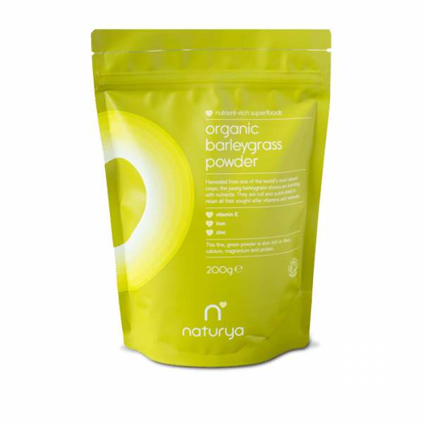 NATURYA SUPERFOODS - BARLEYGRASS POWDER (200G)
