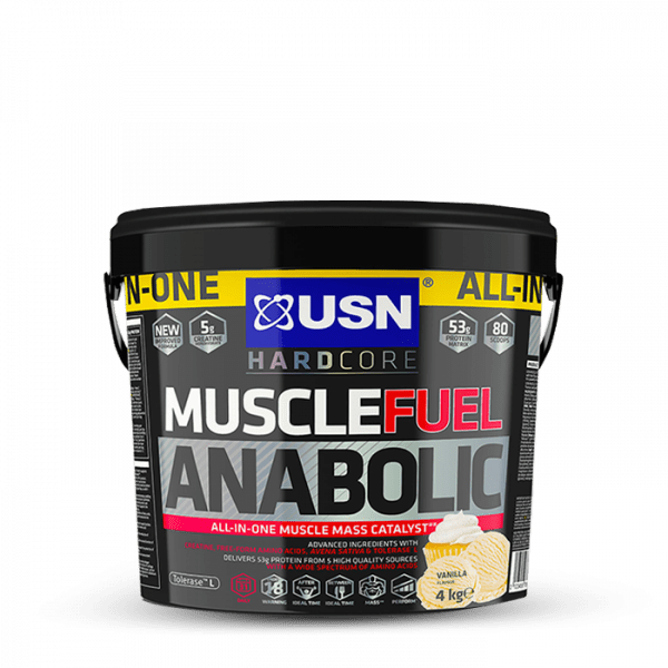 USN MUSCLE FUEL ANABOLIC 4000g Gainers/Kohlenhydrate