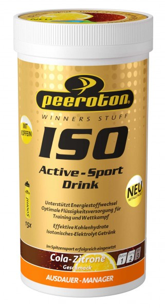 Peeroton ISO-Active- Sport Drink, 300g, Cola-Zitrone