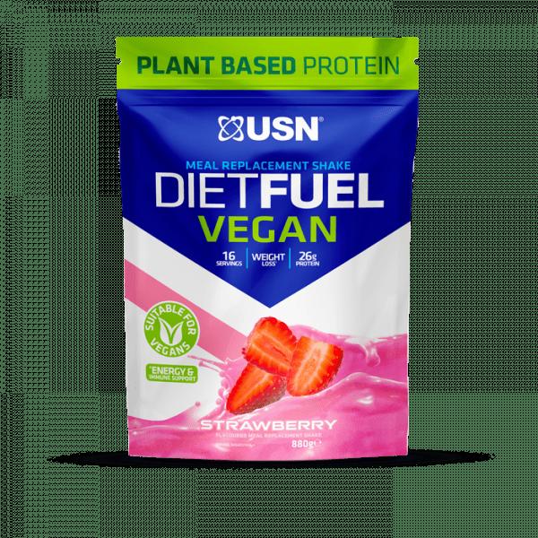 USN DIET FUEL Vegan, 880g Diät Produkte