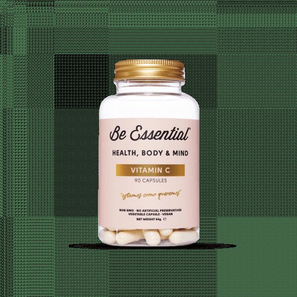 Be Essential VITAMIN C, 90 Kapseln Vitamine und Mineralien