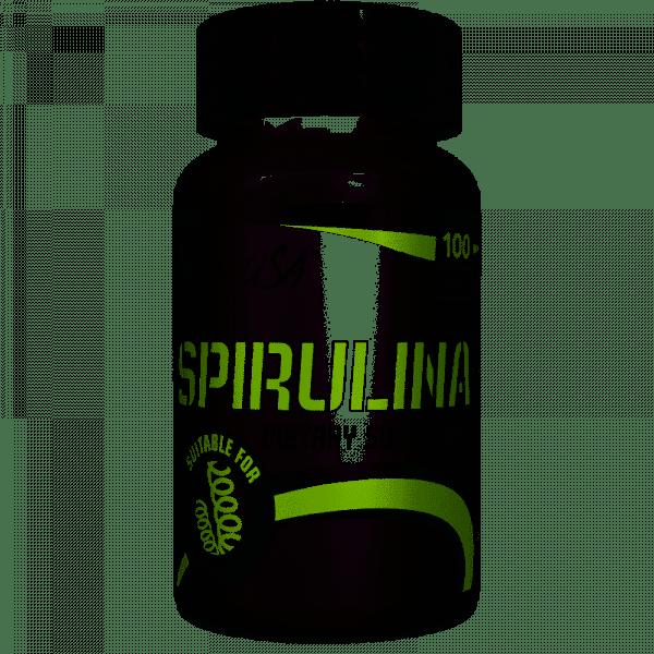 BioTechUSA Spirulina, 100 Tabletten Health Produkte