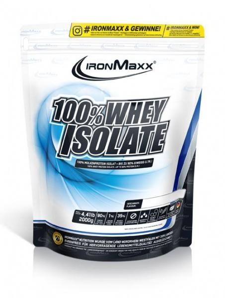 IRONMAXX 100% Whey Isolate Beutel 2000g