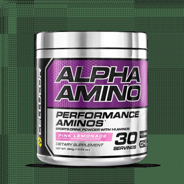 Cellucor Alpha Amino 366g Aminos - Pink Lemonade - MHD 31.10.2020