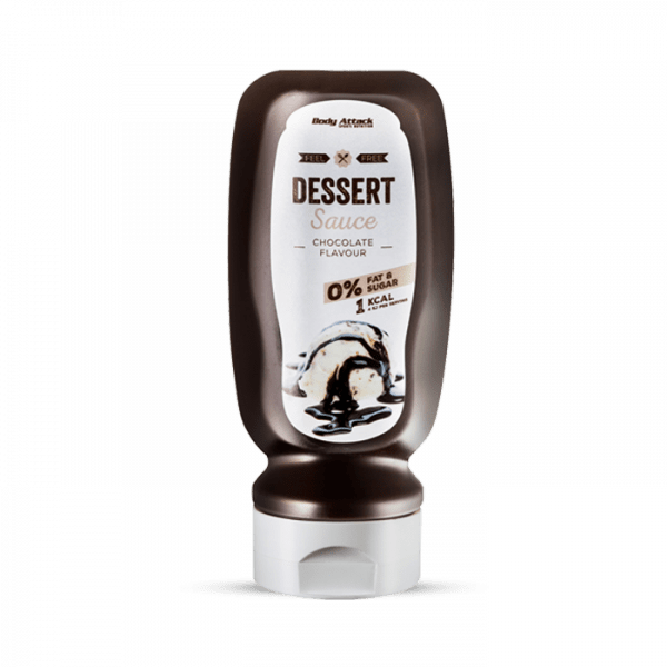 Body Attack Sauce Chocolate, 320ml Food