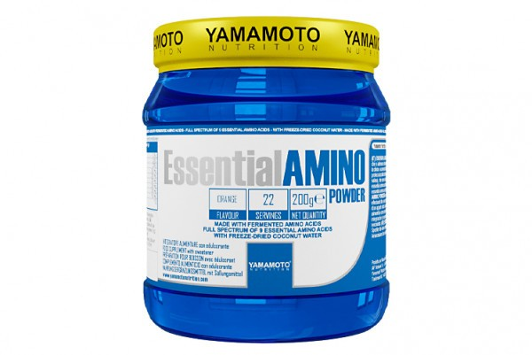 Yamamoto ESSENTIAL AMINO POWDER 200g orange