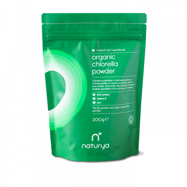 NATURYA SUPERFOODS - CHLORELLA POWDER (200G)
