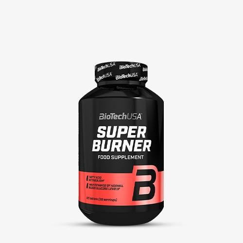 BIOTECHUSA Super Burner 120 Tabletten Diät Produkte