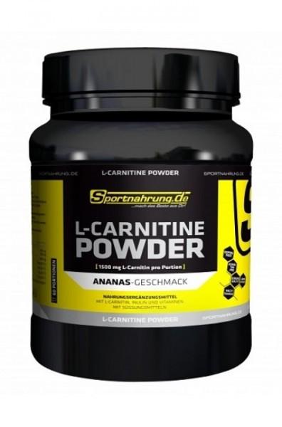 Sportnahrung.de L-Carnitin Powder 300g - Ananas