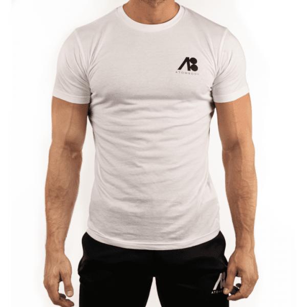 ATOMBODY T-Shirt MUST HAVE, men, M, white