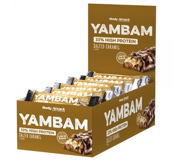Body Attack Yam Bam 18 x 40g
