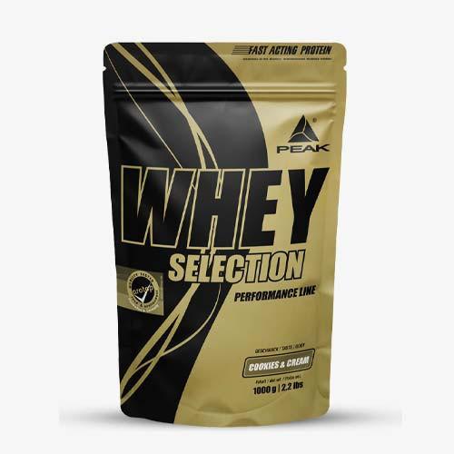 PEAK Whey Selection 1000g Proteine