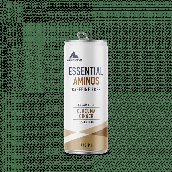 MULTIPOWER Essential Aminos 12x330ml - Curcuma Ginger - MHD 30.04.2021