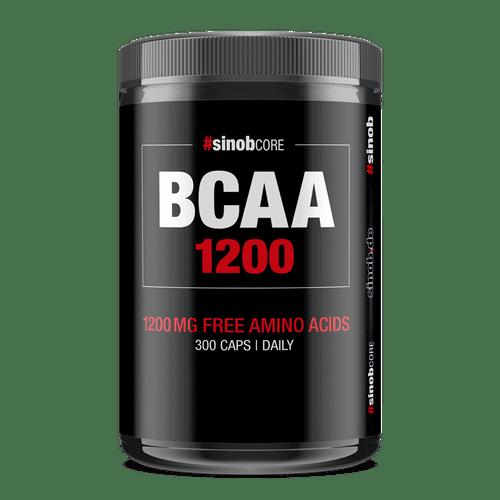 SINOB Core BCAA 1200mg Caps 300 Big Caps