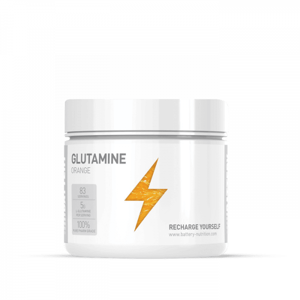 BATTERY GLUTAMINE 500g Aminos