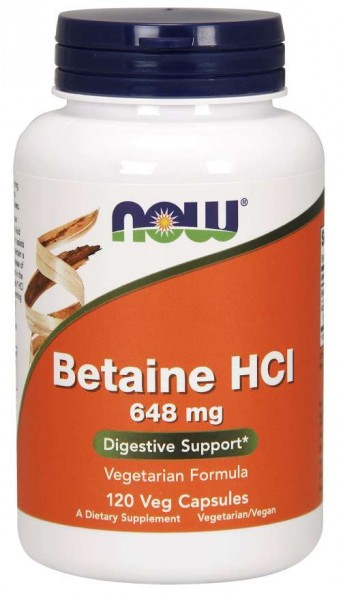 Now Foods - Betaine HCI (120) Standard
