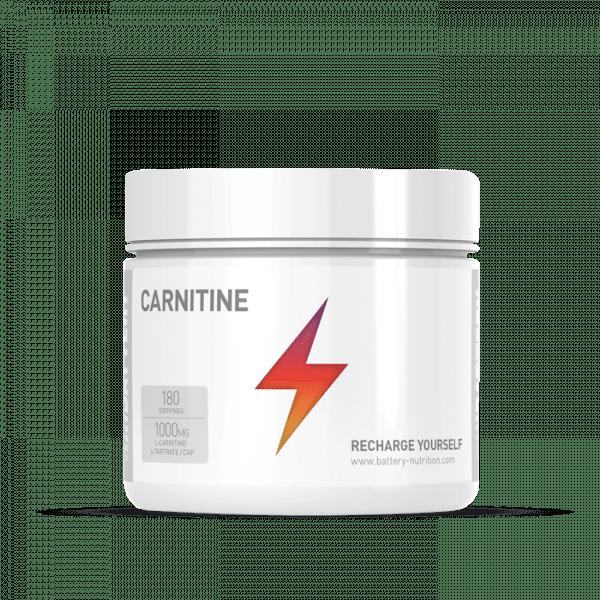 BATTERY CARNITINE, 180 Kapseln Diät Produkte