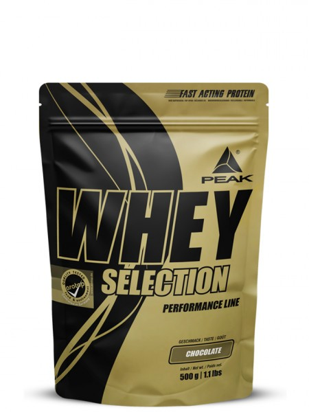PEAK Whey Selection 500g Proteine