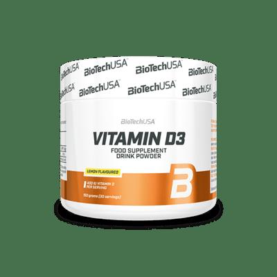 BIOTECHUSA Vitamin D3 150g Zitrone