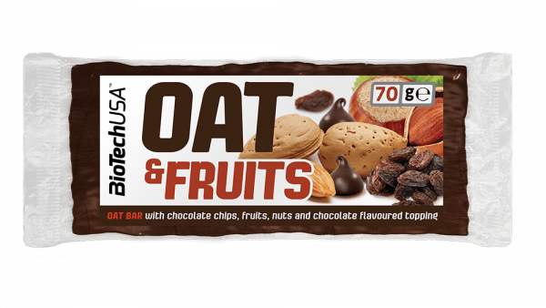 BioTechUSA Oat Bar, 20 x 70g Bars und Snacks