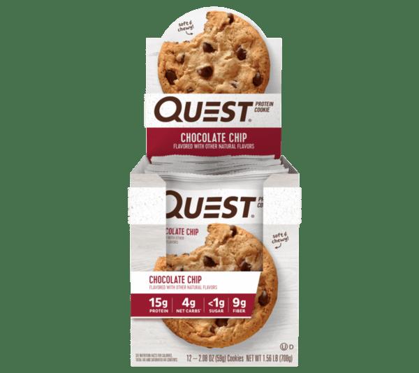 Quest Nutrition - Protein Cookie (12x50g) Bars und Snacks