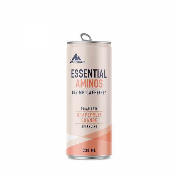 MULTIPOWER Essential Aminos 12x330ml - Grapefruit Orange - MHD 30.04.2021