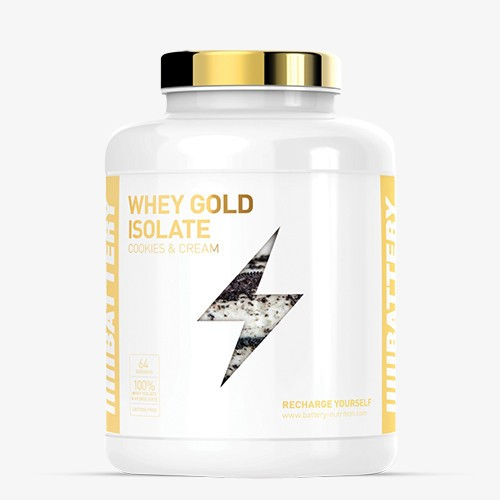 BATTERY WHEY GOLD ISOLATE 1600g Proteine