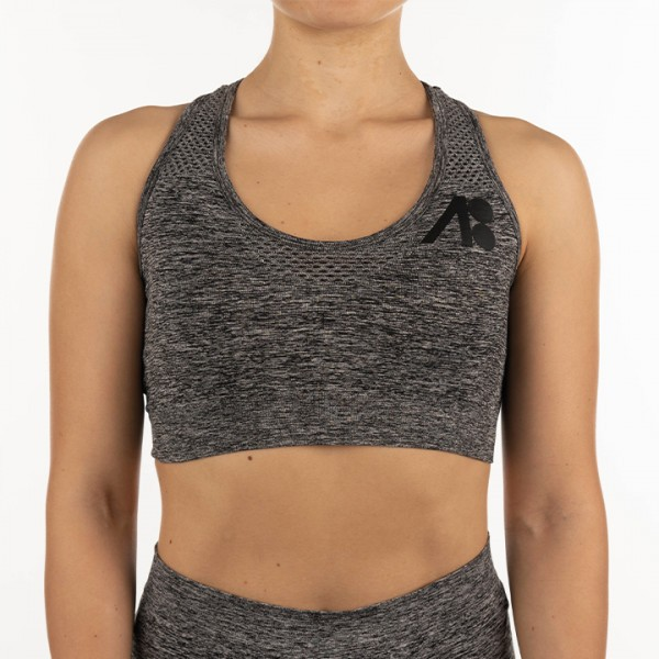 ATOMBODY Workout TOP, woman, S, dark grey