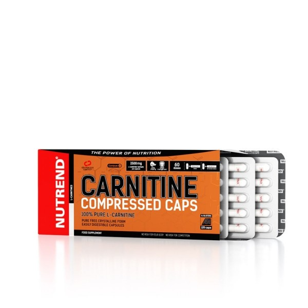 NUTREND Carnitine Compressed Caps, 120 Kapseln