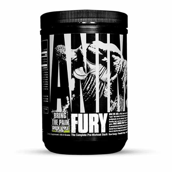 Universal Nutrition Animal Fury Green Apple 495g Trainings Booster
