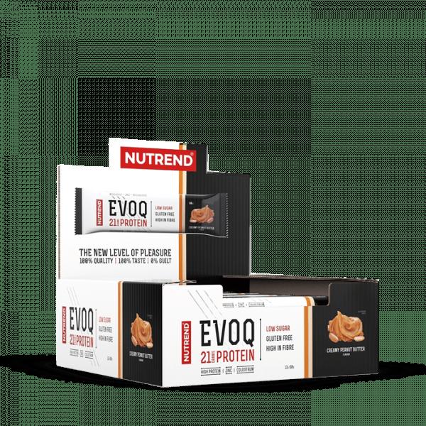 NUTREND EVOQ 12 x 60g Bars und Snacks