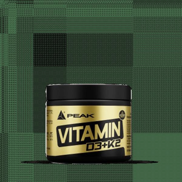 Peak - Vitamin D3+K2 (120) Unflavoured Vitamine und Mineralien
