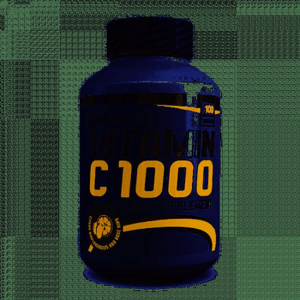 BioTechUSA Vitamin C 1000, 100 Tabletten Vitamine und Mineralien