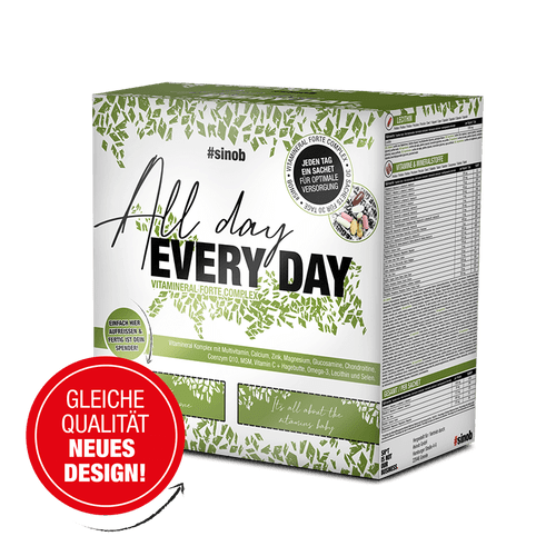 SINOB All Day Every Day Vitaminpack 30 Päckchen Vitamine und Mineralien
