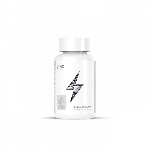 BATTERY ZINC 25mg, 90 Kapseln Vitamine und Mineralien