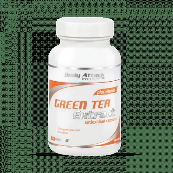 Body Attack Green-Tea Extract 90 Kapseln Health Produkte