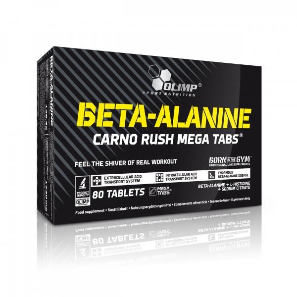 OLIMP Beta-Alanine Carno Rush Mega Tabs 80 Tabletten