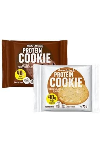 Body Attack Protein-Cookie 12 x 75g
