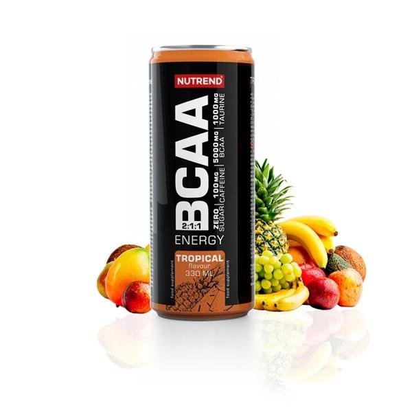 NUTREND BCAA ENERGY, 24 x 330ml, Drinks