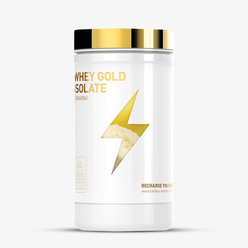 BATTERY WHEY GOLD ISOLATE 600g Proteine