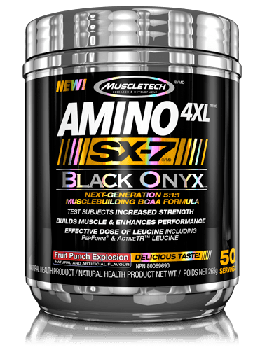 Muscletech - SX-7 Black Onyx Amino 4XL Fruit Punch Explosion