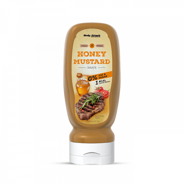 Body Attack Sauce Honey-Mustard, 320ml