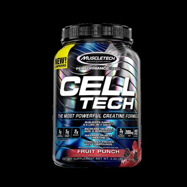 Muscletech - Performance Series Cell-Tech, 1400g - Fruit Punch Kreatin
