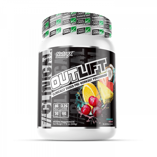 NUTREX RESEARCH - OUTLIFT 20 SERV MIAMI VICE