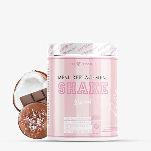 FITNFEMALE Meal Replacement Shake 500g - Chocolate Coconut - MHD 08.12.2021