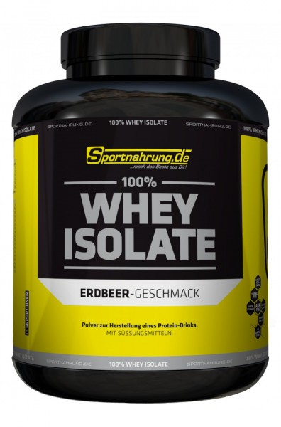 Sportnahrung.de 100% Whey Isolate 2000g