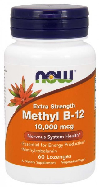 Now Foods - Methyl B12 10000mcg (60) Standard Vitamine und Mineralien