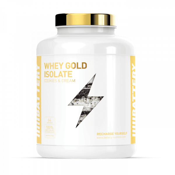 BATTERY WHEY GOLD ISOLATE 1600g
