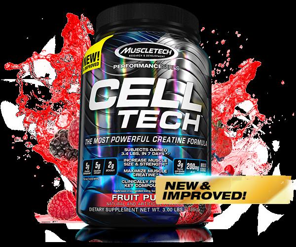 Muscletech - Performance Series Cell-Tech, 1400g - Fruit Punch
