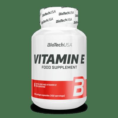 BioTechUSA Vitamin E 400, 100 Tabletten Vitamine und Mineralien